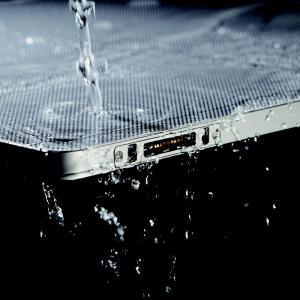 Detektor im Wassertest